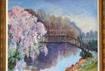 Cherry Blossoms / Cherry Blossoms Oil Paintings