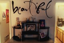 Inspiration wall painting daydreamer