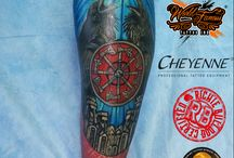 Slavic tatoo/ Słowiańskie tatuaże