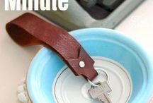 Leather DIYs