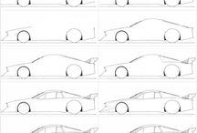 dessin voitures