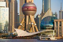 The Oriental Pearl Tower, Shanghai China / หอไข่มุก ไฮไลท์แห่งมหานครเซี่ยงไฮ้