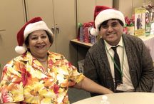 Arts & Crafts Event at The Whittier Senior Center / Staff and Management from A-1 Home Care spreading the holiday spirits and sharing a laugh with seniors / by A-1 Home Care, A-1 Domestic Professional Services