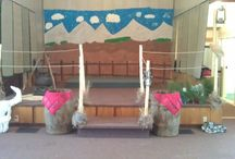 Sonwest Roundup VBS / Here are some of the decorations I did for VBS 2013