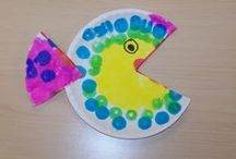 Paper plate fish craft / This page has a lot of free Paper plate fish craft idea for kids,parents and preschool teachers.