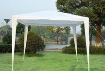 Outdoor Tent Gazebo Canopy Garden Patio White Home Furniture Waterproof Shelters