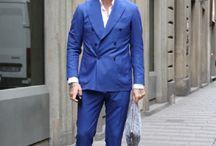 ブルー ネイビー スーツ