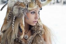 shaman warrior woman