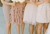 Bridesmaid idea