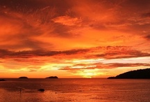 Sunsets Of Borneo
