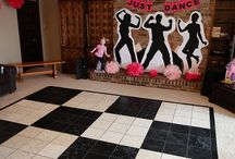 Zenés táncos szülinap
