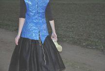 Fairy Tale - Märchen Design / Hier findet ihr meine modischen Märcheninterpretationen. Die Kleider habe ich selbst entworfen und genäht.