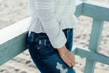 BEACH / Beachy denim looks
