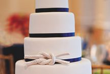 nautical wedding / nautical beach ocean theme wedding ideas inspiration