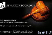 Alvarez Abogados Tenerife, Abogados Tenerife / Despacho abogados en Tenerife, damos servicio en todos los partidos judiciales de Tenerife.