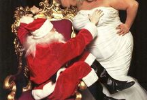 Have a FILTHY Christmas! / John Waters' muse Divine, Edith Massey (Edie Egg Lady) and Desperate Living's Jean Hill— have surfaced to bring you the filthiest Christmas EVER. These pics were shot for novelty Christmas cards in the late 80s.