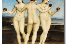 Art: Raphael - Raffaello / Most amazing paintings by great Raphael Raffaello Sanzio Italian painter (1483  - 1520)