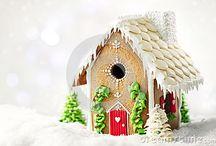 Gingerbread Houses / by Daya Beard