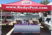 Event setup / Need a promo booth or custom tent? Give us a call 760-935-3600