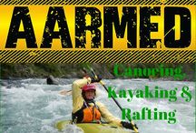 Canoeing, Kayaking, Rafting / Whether its whitewater kayaking, canoeing or rafting, this board talks about these extreme water sports.