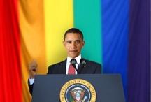 Alternativas a la portada gay de Newsweek / El presidente de Estados Unidos, Barack Obama, dio unas declaraciones a favor del matrimonio entre personas del mismo sexo. La revista Newsweek ilustró este acontecimiento y luego ofreció en su Tumblr alternativas de portada. / by Cdperiodismo
