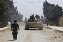 Syria: Hundreds of Tawheed brigade Syrian rebels enter the besieged city of Qusair
