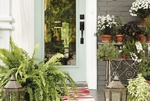 Porches and front doors