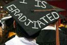 Graduation cap decoration ideas / by Brittani Baker