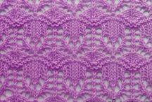 pletení / vzorky a náupady