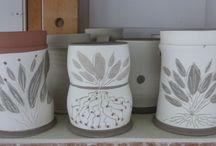 My Pots in Progress