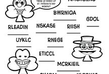 ST Patricks Day Coloring Pages and Handouts / by Ashley Karenke