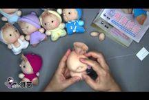Lavori con calze bambole
