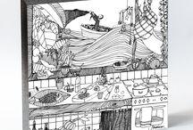 A COZINHA SECRETA DO PESCADOR / O pescador é o personagem que representa a cozinha do mar. Cercado pela abundância da natureza, o oceano e a mata, o pescador encontra o alimento e a paz, ingredientes para as mais belas receitas que imaginar. Peixes e frutos do mar, folhas e frutas compõem a paisagem e a sua mesa, temperados pelo sal e o sol.
