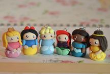 Polymer clay charms / by Camille Dancer