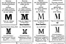 Tipografía / Mostraremos todas las características de las distintas familias tipográficas existentes....palo seco, romanas, fantasía, góticas, incisas, egipcias, no latinas, informáticas, fuentes pi, seriales y escriptas.