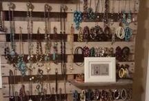 Mostradores para jóias