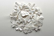 ART: Paper Artwork Ideas / ART: Paper Artwork Ideas.  These are cool because some would be relatively simple DIY crafts that also look pretty cool. / by Sarhas Hamilton