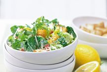 Salads / Whether as a side or as a main, these scrumptious salads are sure to hit the spot.