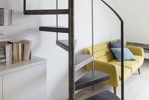 escalier metal pur