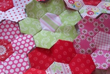 hexagon quilt blocks