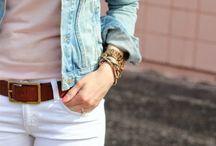 White jean kombinler