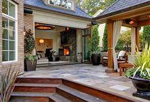 Nyári teraszok-Summer terraces / GG-és társaimnak.