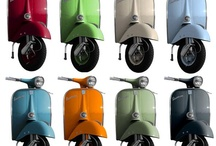 Which color would you choose to paint your vespa?
