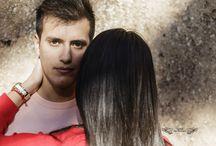 FOTOS NOVIOS CLARA Y CARLOS / Fotos de pareja de novios en exteriores.