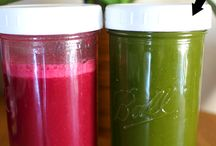 Juicing Recipes, Infused Waters & Teas