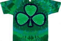 St Patrick's Day  / St Patrick's Day tie dye shirts and clothing from the Tie Dyed Shop.
