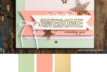 Stampin Up - Perfect Pennants / by Whitney Ulsas