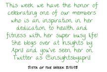 Sista of the Week