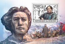 New stamps issue released by STAMPERIJA | No. 379 / BURUNDI 20 08 2013 - BUR13314a-BUR13325b