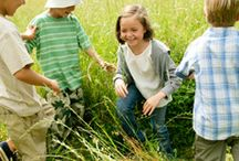 Go Outside Ideas / We think that outside play is so important!  Keep your kids active, fit and healthy with tips on what to do outside!